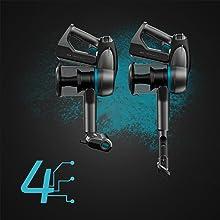 Cecotec Aspirador Escoba Conga Rockstar 500 Ultimate ErgoWet. Aspirador sin Cables 4 en 1: Vertical, Escoba, de Mano y friegasuelos, 430W y 24 KPA, Tubo Flexible, 65 min de Autonomía, Máx eficiencia: Amazon.es: Hogar