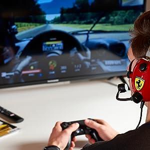 Casque Ferrari