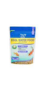 api pond fish food cool water spring pellets sticks
