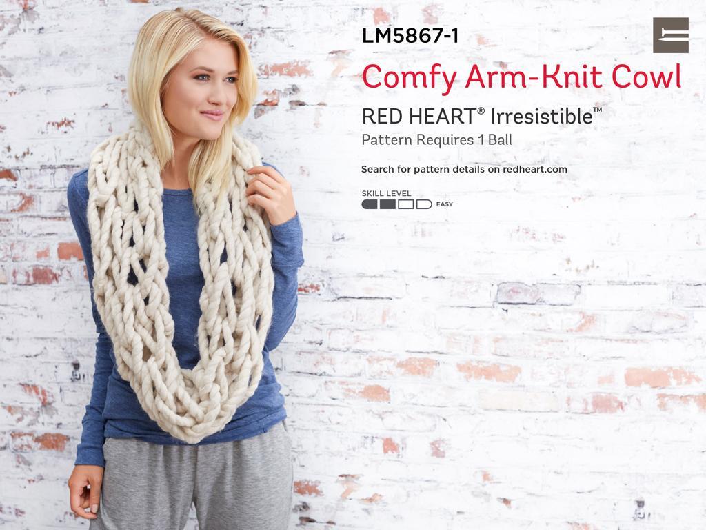 Amazon.com: Red Heart Irresistible Yarn, Enchanting: Arts, Crafts ...