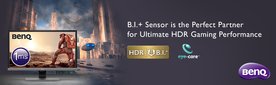 B.I.+ Sensor is the Perfect Partner for Ultimate HDR Gaming Performance