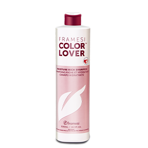Framesi Moisture Rich shampoo, Sulfate free, ultra-hydrating, weightless, evives dry hair, vitality