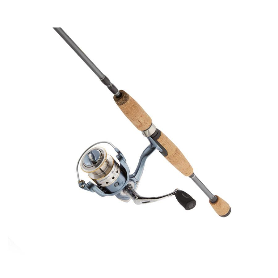 Pflueger president spinning fishing reel and for Amazon fishing rods