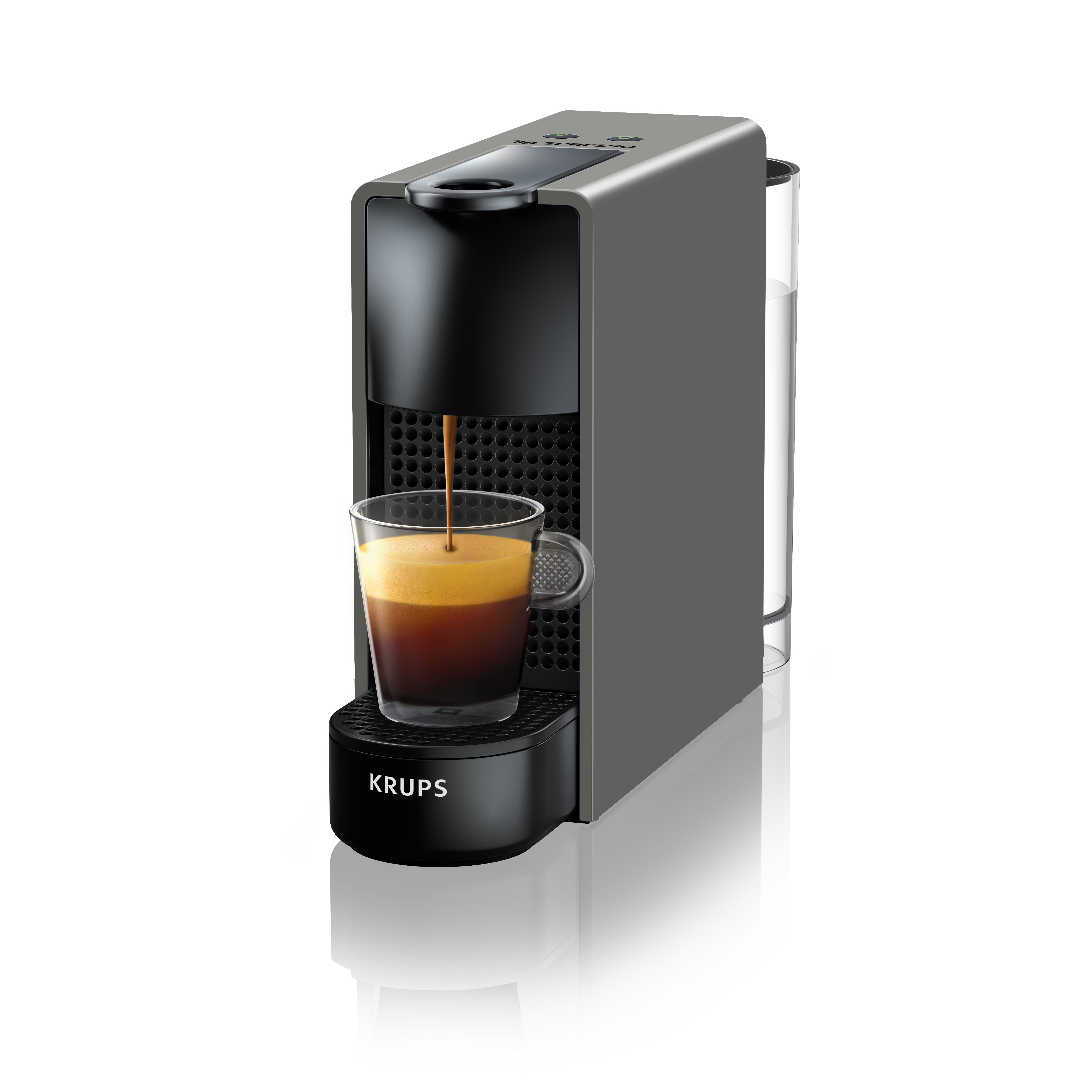 krups nespresso xn110b essenza mini kaffeekapselmaschine 1260 watt thermoblock. Black Bedroom Furniture Sets. Home Design Ideas