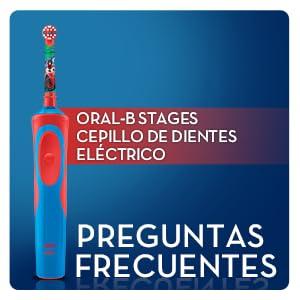 Oral-B Stages Power Kids - Cepillo de dientes eléctrico recargable