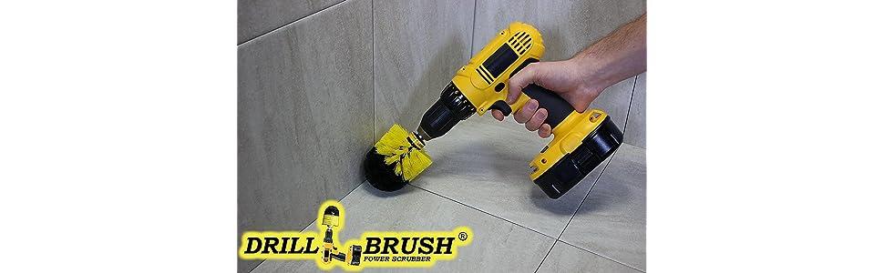Amazon Com Drill Brush Cordless Drill Power Scrubber