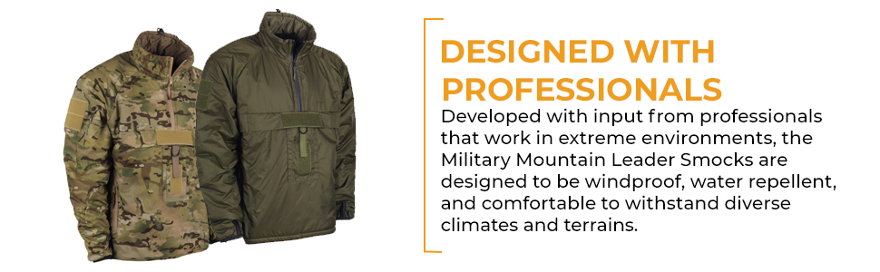Snugpak MML Softie Smocks -Developed with input from professionals that work in extreme environments