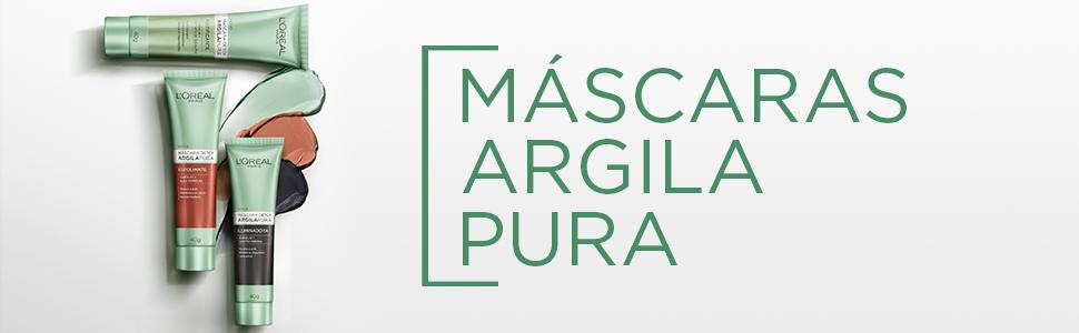 argila, pura, loreal paris, argila pura, loreal