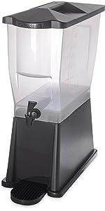 beverage dispenser,economy dispenser, compact dispenser, plastic dispenser