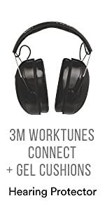 3M WorkTunes Connect + Gel