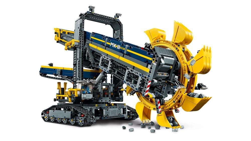 lego technic 42055 schaufelradbagger bauspielzeug. Black Bedroom Furniture Sets. Home Design Ideas