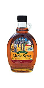Coombs Family Farms USDA Organic Pure Maple Syrup Dark Color Robust Taste