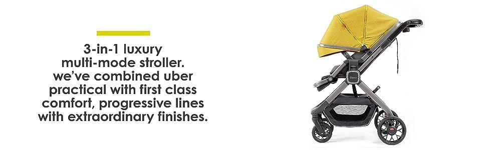 3-in-1 Luxury Multi-Mode Stroller