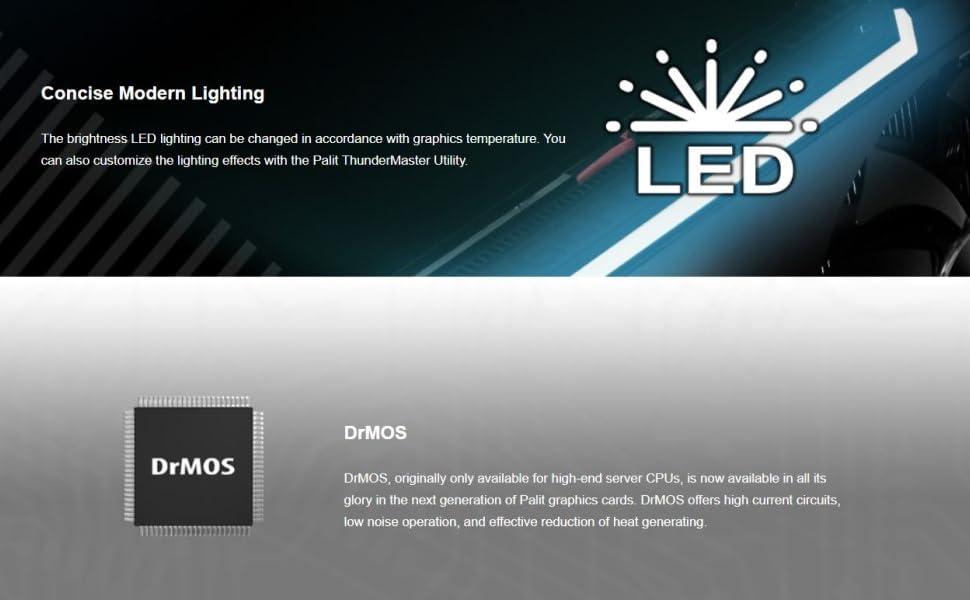 led lighting, drmos