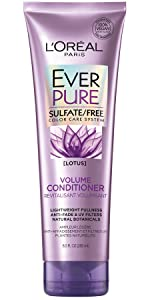 EverPure, loreal, volume conditioner