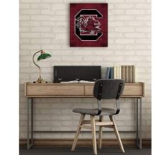 South Carolina Gamecocks Pallet Pride Collage Logo Plaque