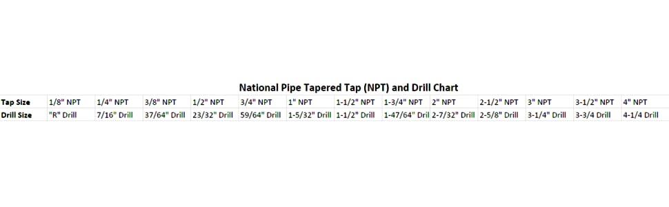 Drill America Dwtpt Carbon Steel Npt Pipe Tap    Npt