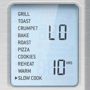 Breville smart oven pro cooking features