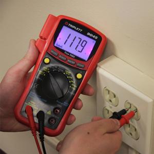 digital multimeter for security, home, electrical, hvac