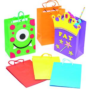 Gekleurde geschenkzakken
