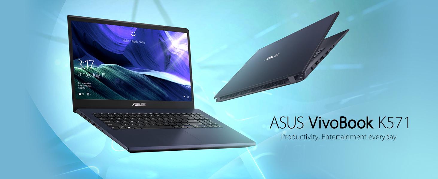Amazon Com Asus Vivobook K571 Laptop 15 6 Fhd Intel Core I7 9750h Cpu Nvidia Geforce Gtx 1650 16gb Ram 256gb Pcie Nvme Ssd 1tb Hdd Windows 10 Home K571gt Eb76 Star Black Computers