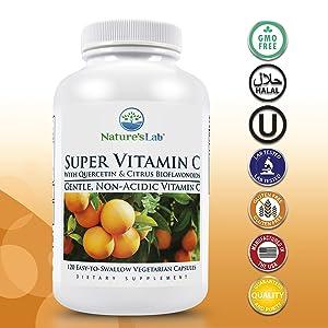 Nature's Lab Super Vitamin C