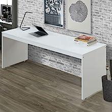 Desk - 37466 - White & Orange