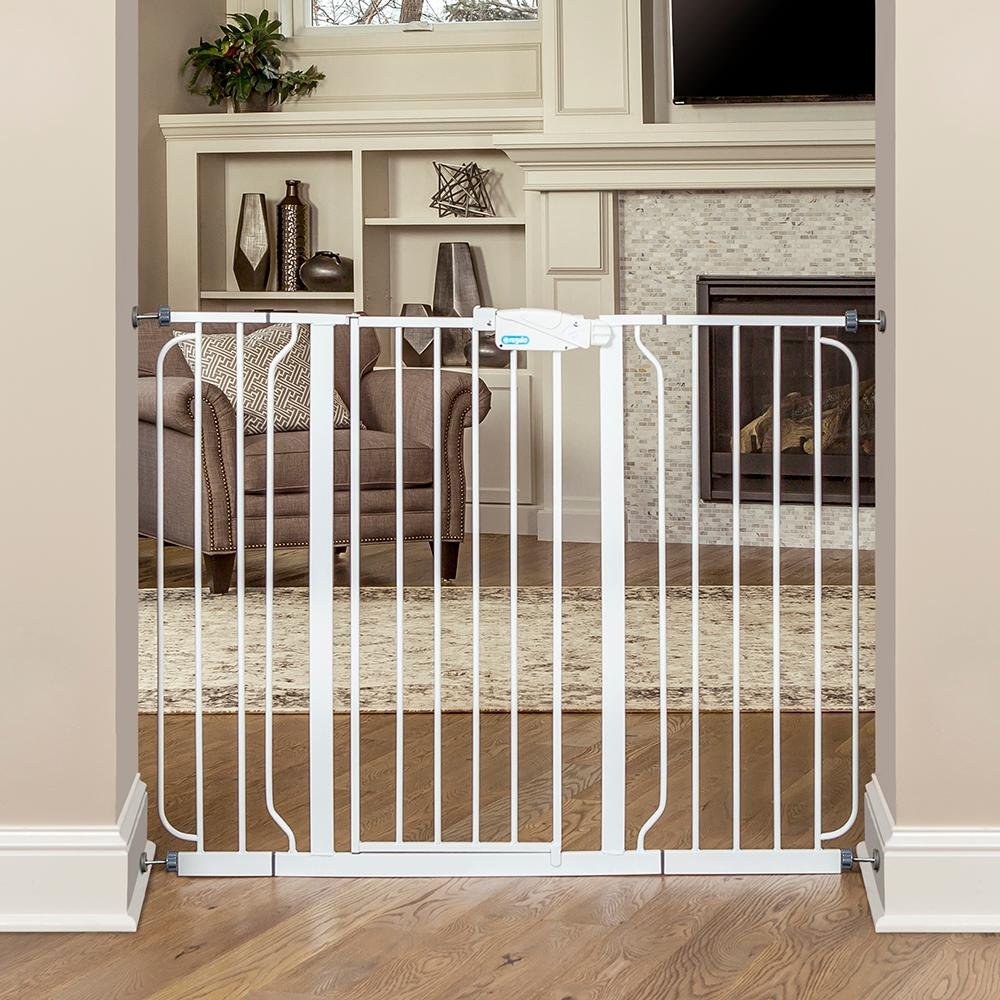 Amazon Com Regalo Extra Tall Widespan Gate White Baby