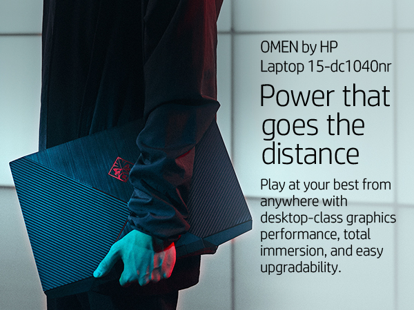 Omen by HP 2019 15-Inch Gaming Laptop, Intel i7-8750H Processor
