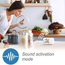 Sound activation mode