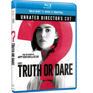 truth or dare, blumhouse, blumhouse's, horror, thriller, bluray, dvd, movie, lucy hale, jason blum