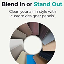 Custom designer panel style sleek modern stylish decor style