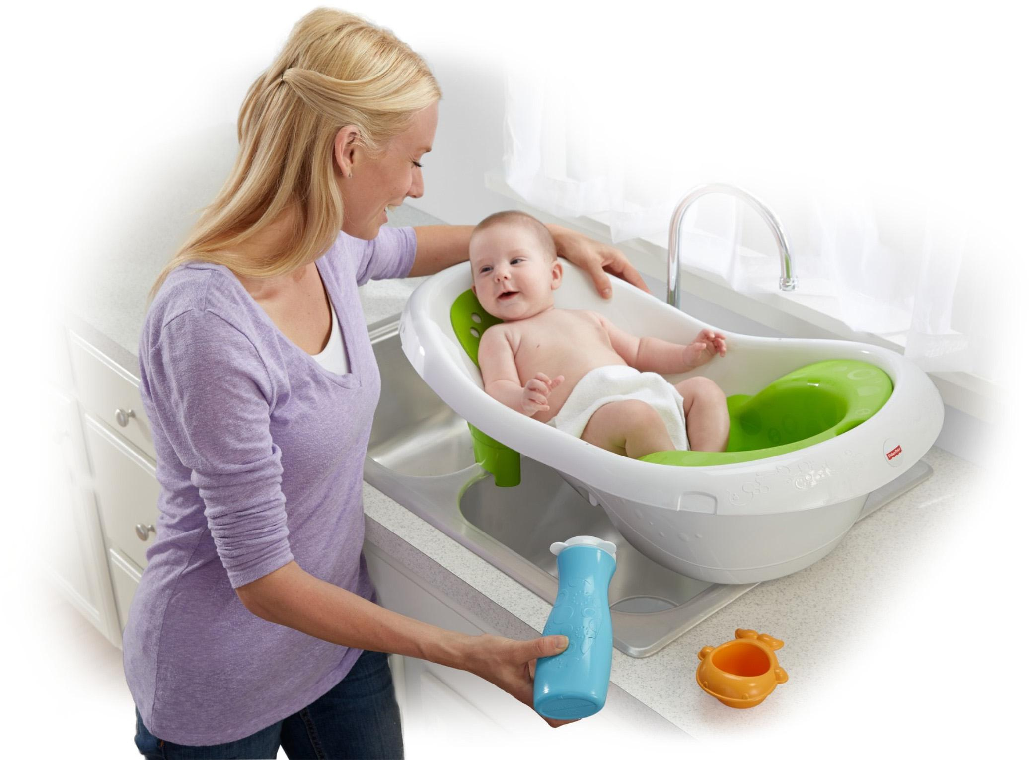 Amazon.com : Fisher-Price 4-in-1 Sling \'n Seat Tub : Baby