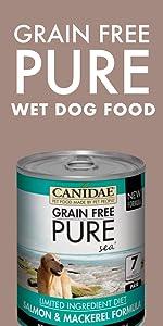 wet dog food limited ingredient grain free