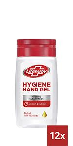 Lifebuoy Hygiene Handgel voor het reinigen van je handen, zelfs zonder water en zeep