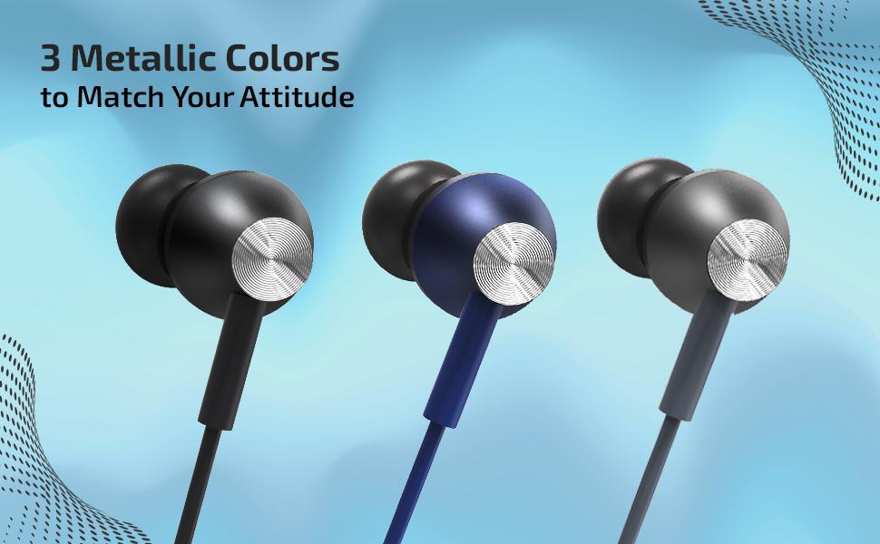pTron Pride Evo wired headphones