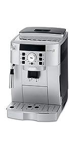 De'Longhi Automatic Coffee Machine Automatic Coffee Machine, Silver, ECAM65055MS: Espresso ...