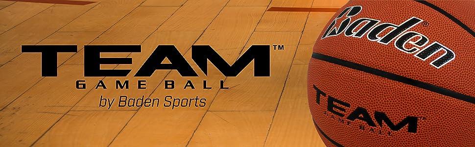 Baden Team Game Basketball, NFHS Approved