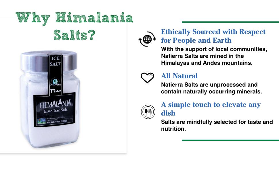 nattiera, superfoods, salt, organic