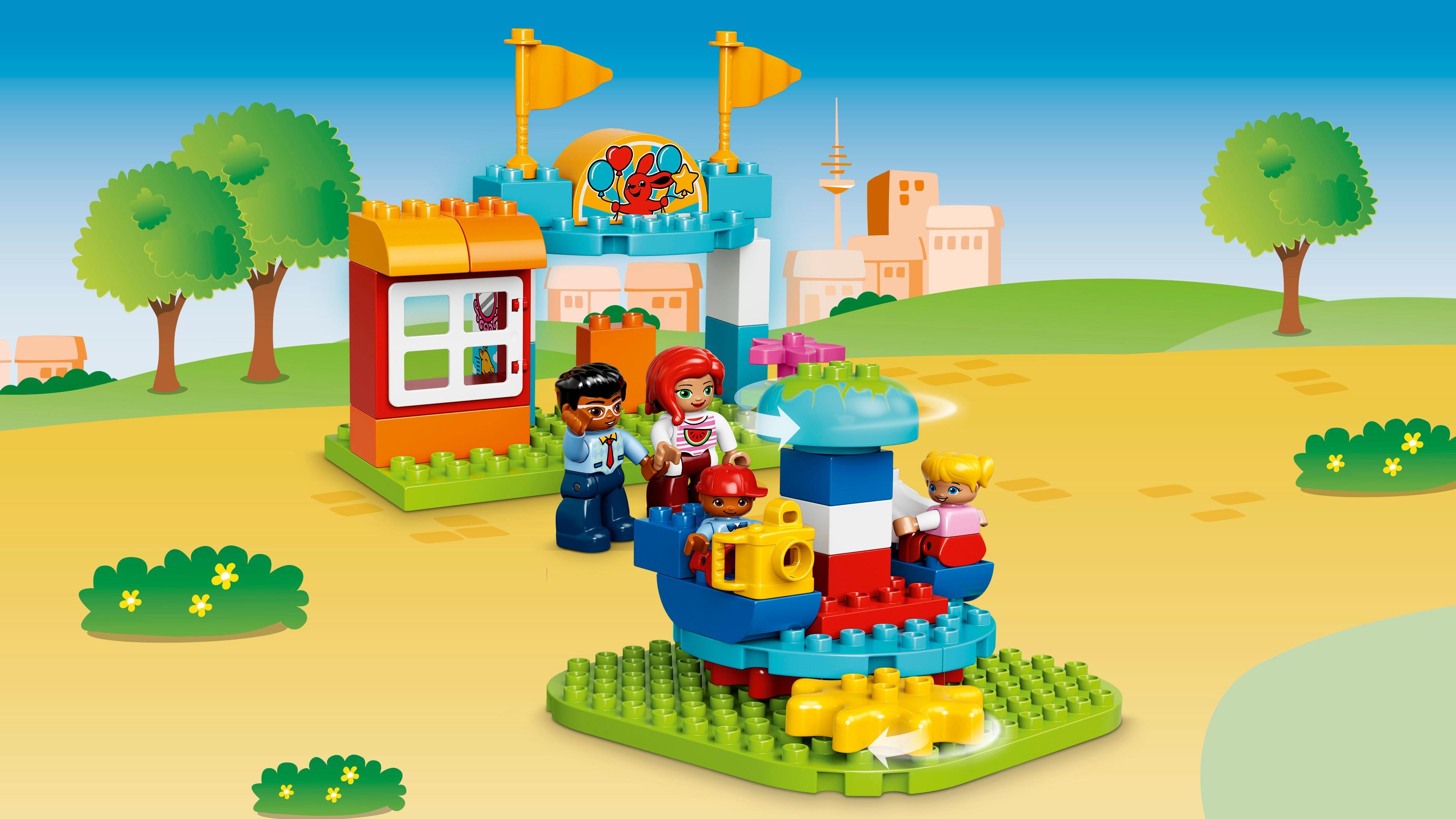 LEGO DUPLO Town - Feria Familiar (10841): LEGO: Amazon.es