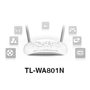 TP-link TPlink TL-WA801N 300Mbps Speed Range Wi-Fi WiFi Wireless Access Point Multi-SSID Network