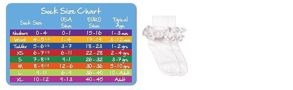Grape Pack of 3 Toddler Jefferies Socks Little Girls Misty Ruffle Turn Cuff Socks