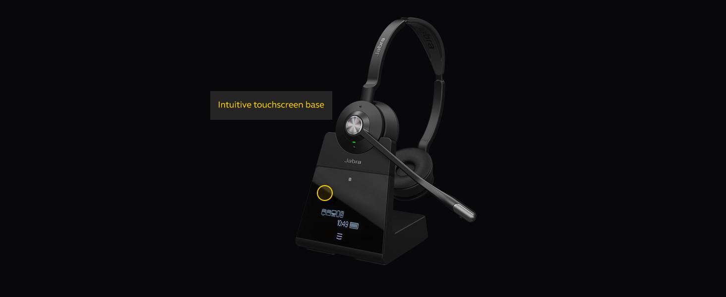 Jabra Engage 75 Stereo Wireless Professional UC Headset