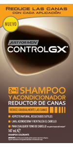 ... Just For Men Control GX Champú y Acondicionador Reductor de cañas- 147 ml. En qué pelo ...