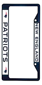 Black License Plate Frame Made in Detroit Auto Accessory 1213