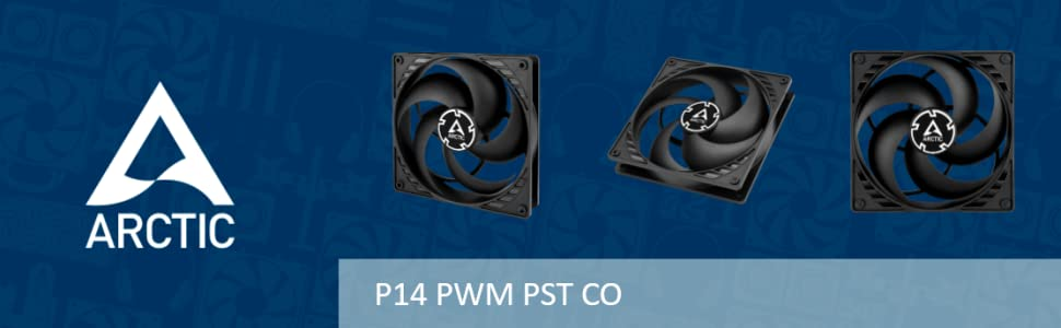 Arctic P14 PWM PST CO case fan