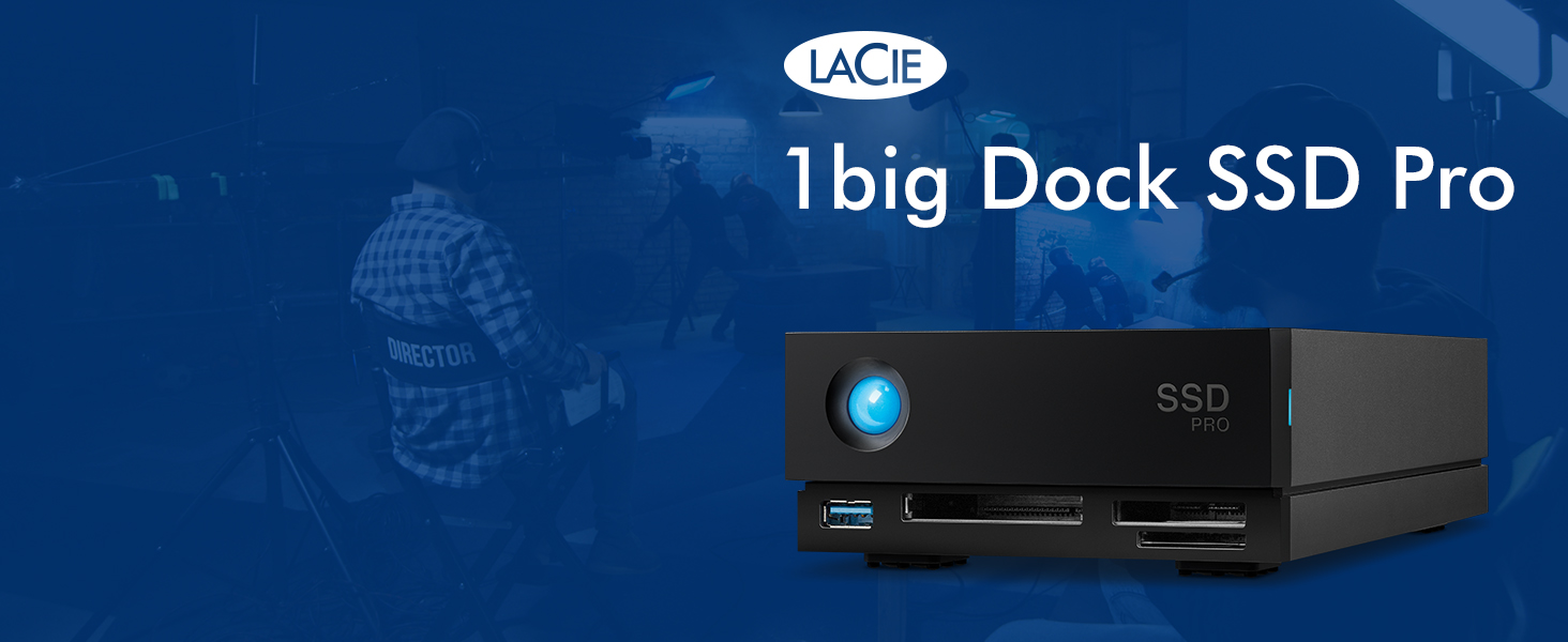 LaCie 1Big Dock SSD