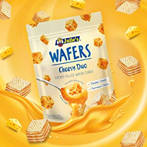 (New) Julie's Cheesy Duo Wafers