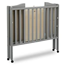 ... this innovative crib sports a compact fold that enables easy travel and storage, while its four wheels enable you to easily keep baby close by as you ...