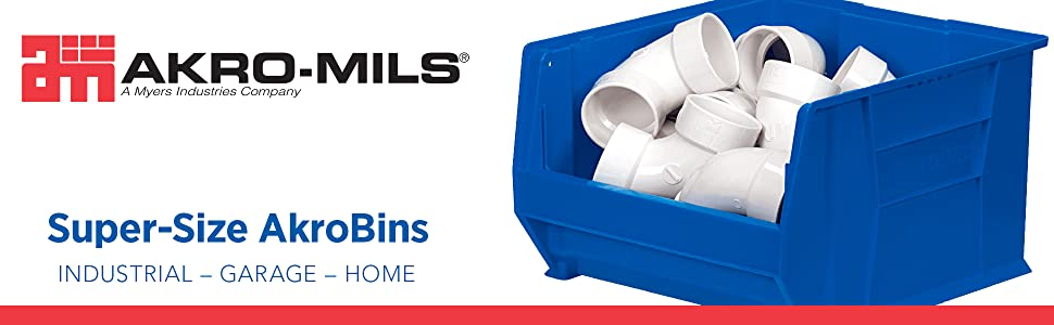 Akro-Mils Akro Mils Akro Mills acro mills plastic storage totes bins container industrial akromils